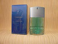 Lanvin - Oxygene Homme (2001) - Туалетная вода 100 мл