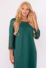 Платье женское нарядное длинное и повседневное деловое размеры: 52-60, фото 3