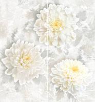 Декор панно Интеркерама Элеганс серый настенный 460*500 Intercerama Elegance П 81 071 для ванной,кухни.