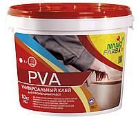 Клей ПВА универсальный 10 кг Нанофарб