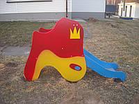 Горка Рыбка  детская игровая уличная