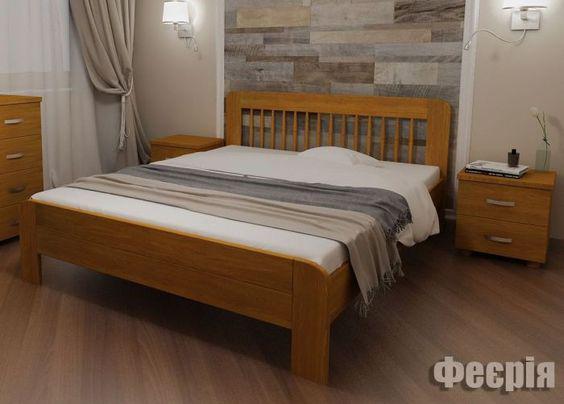 Кровать деревяная 160х200 Феерия Явіто