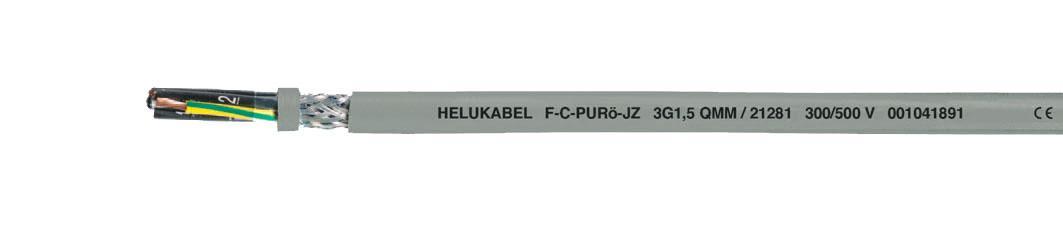 Кабель F-C-PURö-JZ / F-C-PURö-OZ