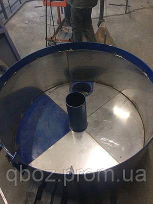 Растворосмеситель принудительный из нержавеющей стали 200 л., фото 2