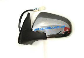 Зеркало левое электро с обогревом хром 5pin Hover 2005-09