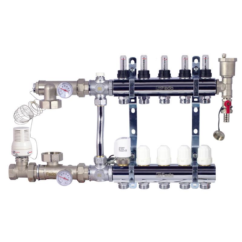 Комплект FADO для підключення системи тепла підлога 4 виходи, SEN04 (8008710011812)