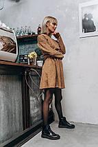 """Приталенное ангоровое мини-платье """"FILA"""" с длинным рукавом (4 цвета), фото 3"""
