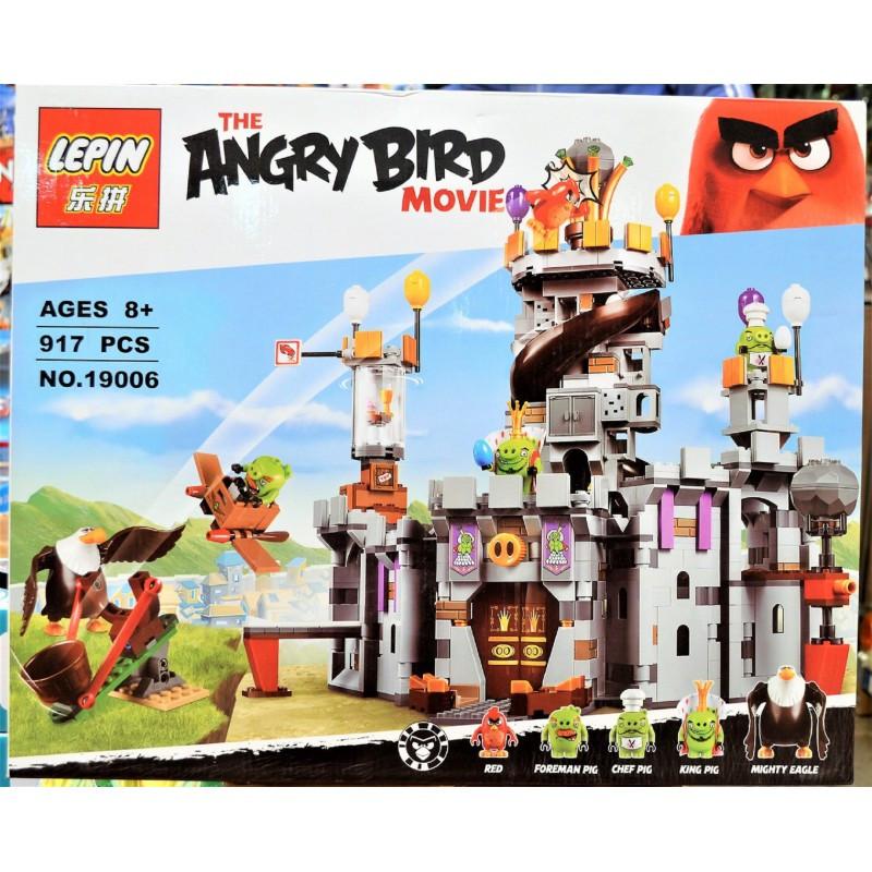 """Конструктор """"Замок Короля свинок"""" Angry Birds Lepin 19006 917 деталей"""