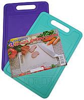 """Доска разделочная пластиковая 19×29 см для кухни """"Юнипласт"""", фото 1"""