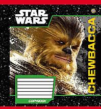 """Тетрадь 18 листов в  клетку """"Зошит Украины""""-""""Star Wars Heroes""""  (упаковка.25 штук-5 видов), фото 3"""