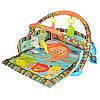 Детский развивающий коврик D106 с бортиками, светом и музыкой, фото 2