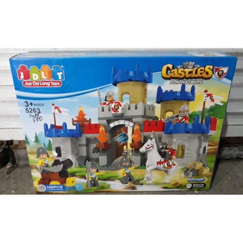Конструктор «Замок рыцарей» Castles JDLT 5263 166 деталей