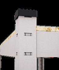 Стеллаж полочный Стандарт, оцинкованный, на зацепах (2400х1000х500), 5 полок, МДФ, 220 кг/полка, фото 3