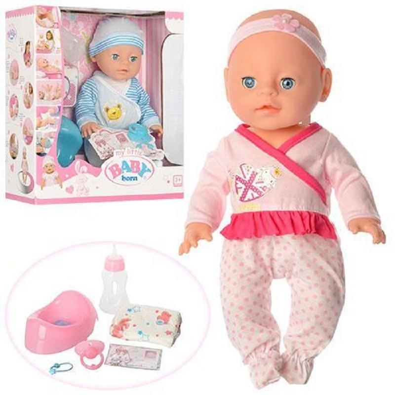Детский пупсик Baby Born YL1712E-S 34 см