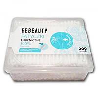 Ватные гигиенические палочки BeBeauty, 200 шт