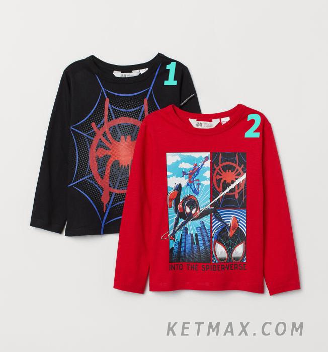 Регланы H&M для мальчика поштучно