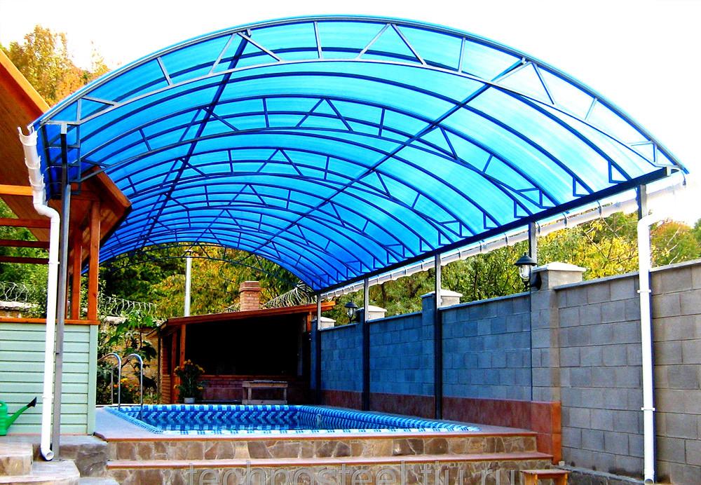Навесы над бассейнами