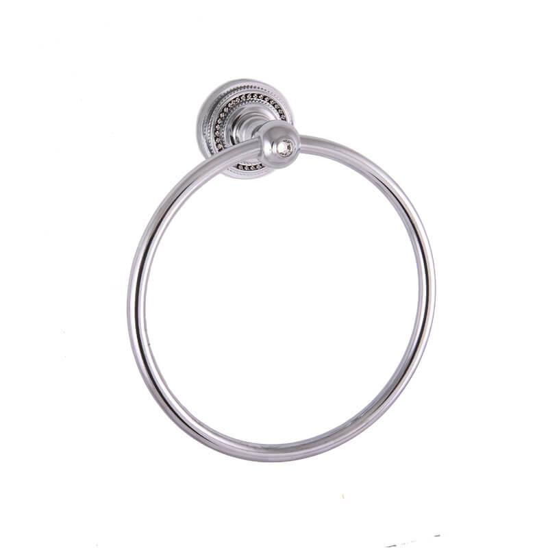 Кольцо для полотенец Cristall Quatro Cameya Хром
