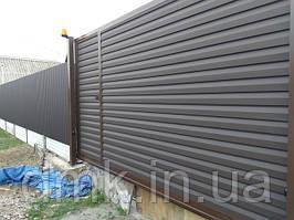 Ворота облицовка из сайдинга металлического