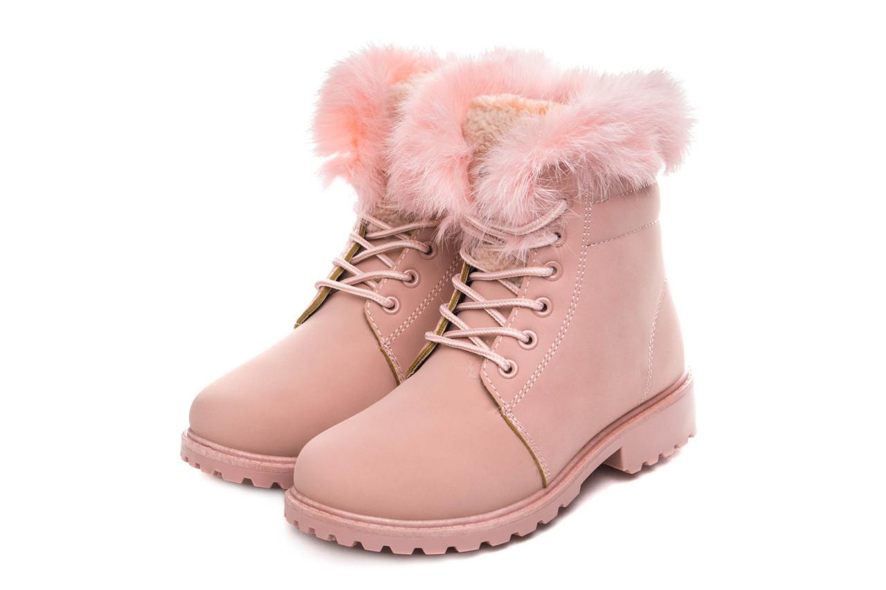f36215656 🎈️Ботинки женские vg max pink 37 (жіночі боти сапоги зимние обувь кожаные  мех)