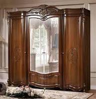Шкаф 4-х дверный Джаконда СлонимМебель орех