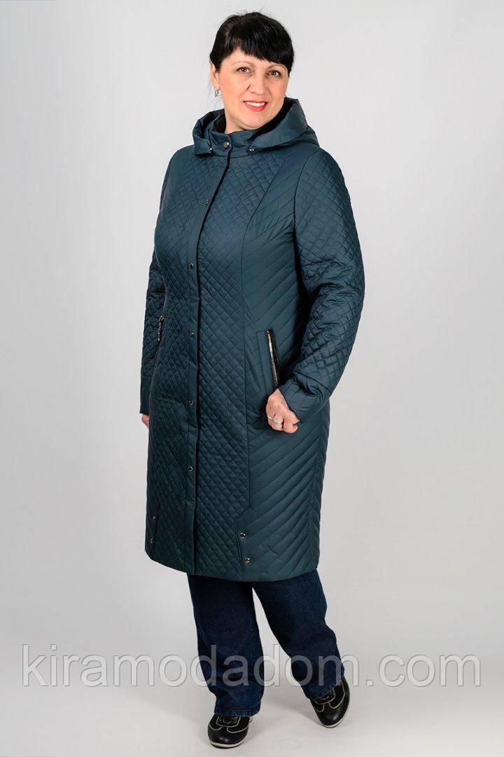 f6fca8fd017 Красия стёганная демисезонная куртка удлинённая женская интернет магазин. 1  185 грн