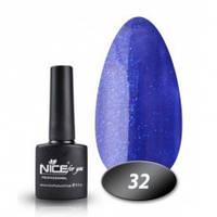 Гель-лак Nice for you № 32 (космический синий), 8,5 мл