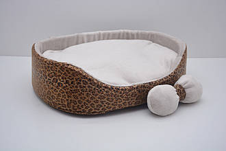 Лежак для собак и котов Зима