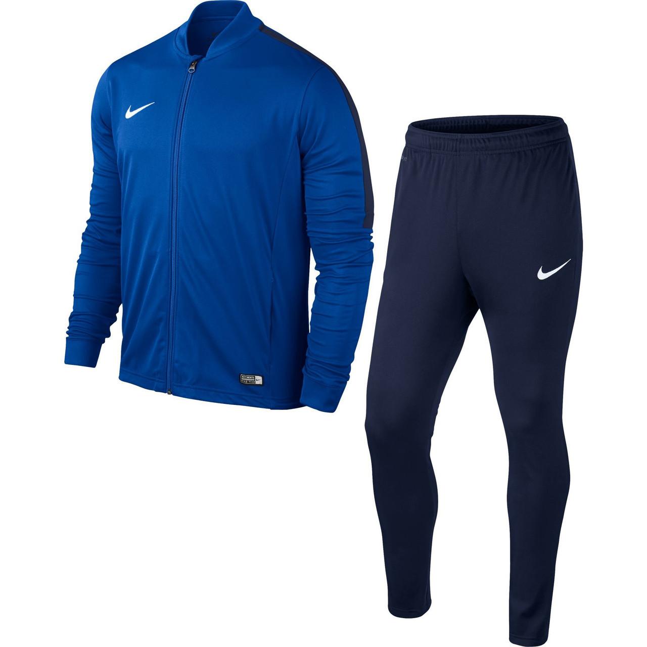 Костюми чоловічі TEAM-каталог Спортивный костюм Nike AcademyTracksuit 808757-463(05-04-01-01) XXL