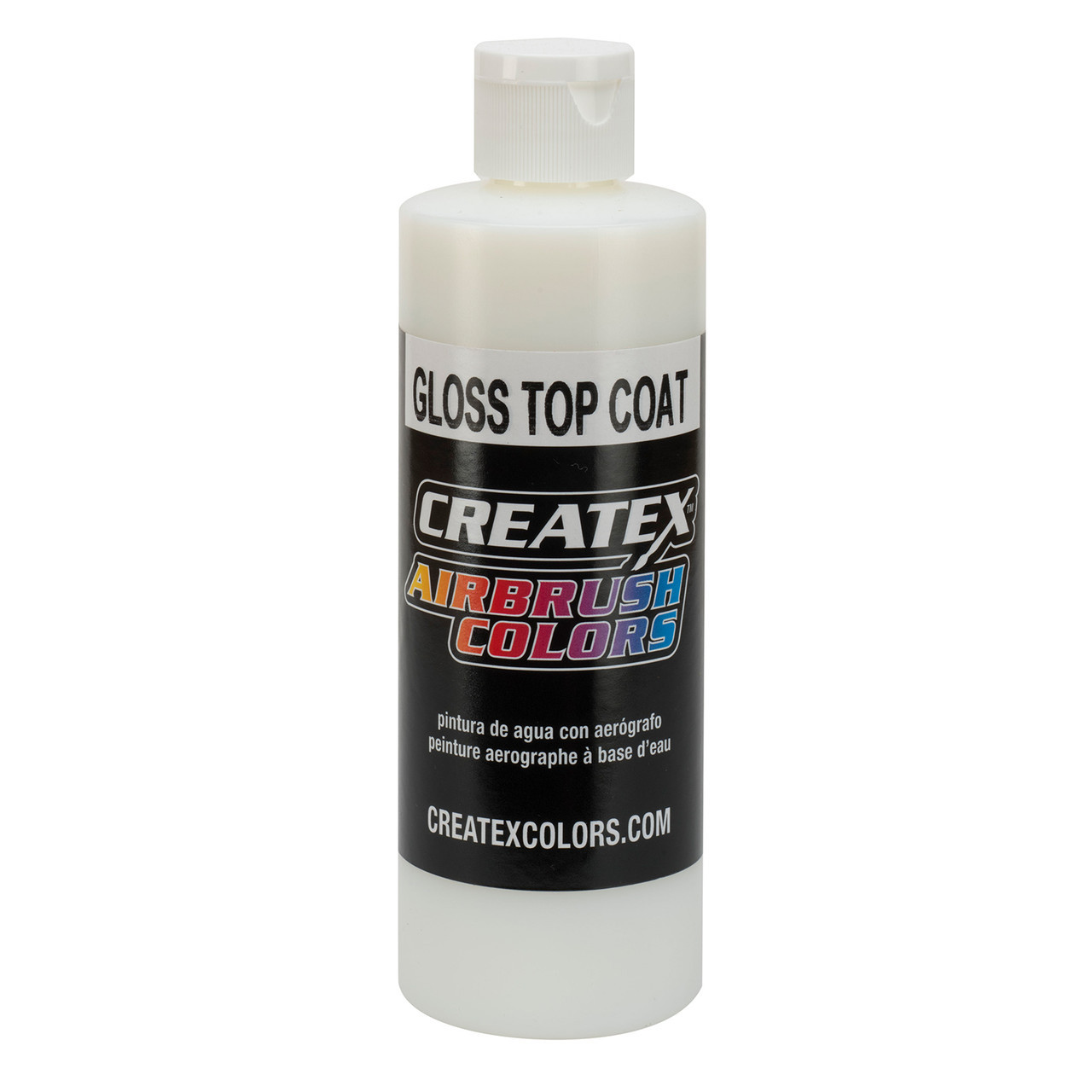 Createx Airbrush Matte Top Coat (глянцевый защитный лак) 120 мл