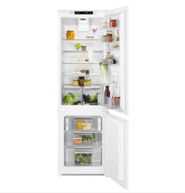 Холодильник с морозильной камерой встраиваемый Electrolux ENN2874CFW