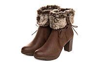 🎈️Ботинки женские Kylie classic cuero 36 (чоботи жіночі обувь сапоги  зимние боты демисезонные полусапожки e02a787f768