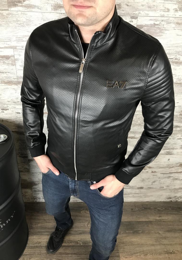 Стильная приталенная мужская куртка Emporio Armani  Коллекция весна 2019 ️Размеры:  L ,XL, 2XL , 3XL,4XL