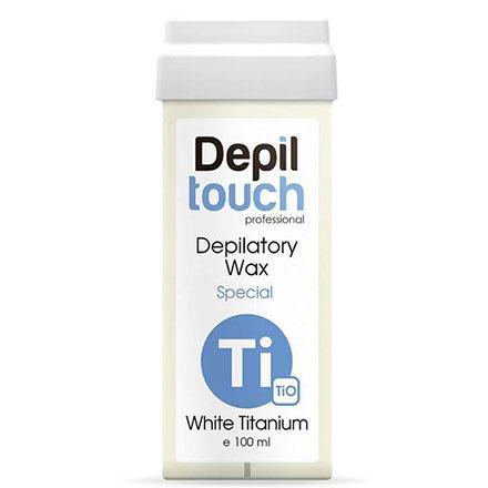 Воск Белый титан в картридже 100 мл Depiltouch