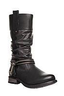 🎈️Чоботи Rieker 38 (23,5 см) (ботинки женские обувь демисезонная зимние теплые кожаные)
