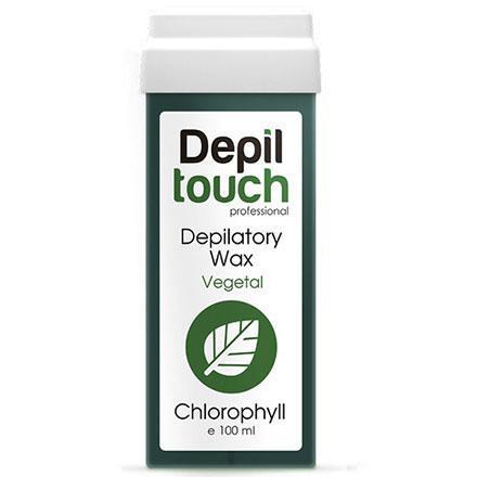 Воск Хлорофил в картридже 100 мл Depiltouch