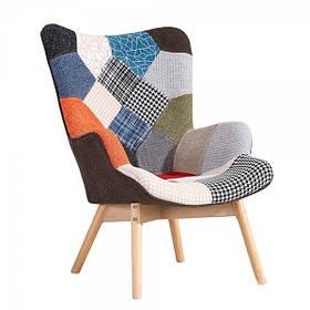 Кресло Флорино, цвет пэчворк (СДМ мебель-ТМ)