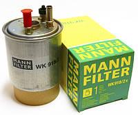 Фильтр топливный Renault Kangoo II - 1.5 Dci (под датчик уровня воды). Mann Германия - WK918/2X