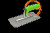Гладилка нержавіюча для венеціанської штукатурки 100х220мм, Colorado