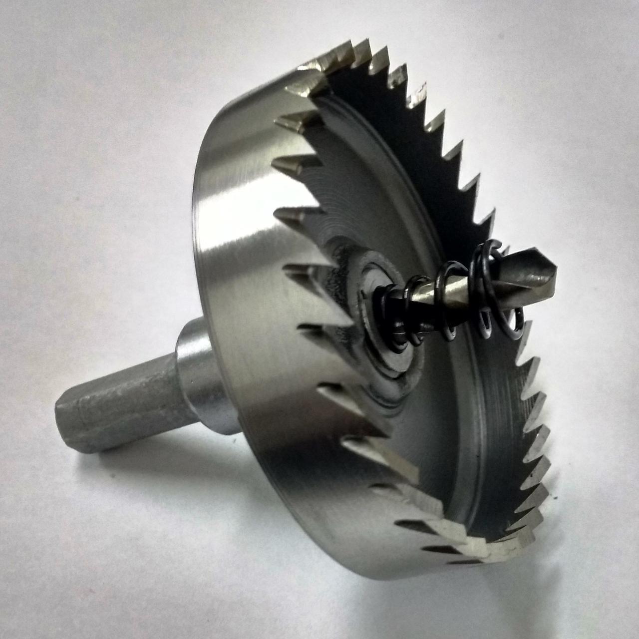 Коронка по металлу (Фреза корончатая) ф.22мм Р6М5