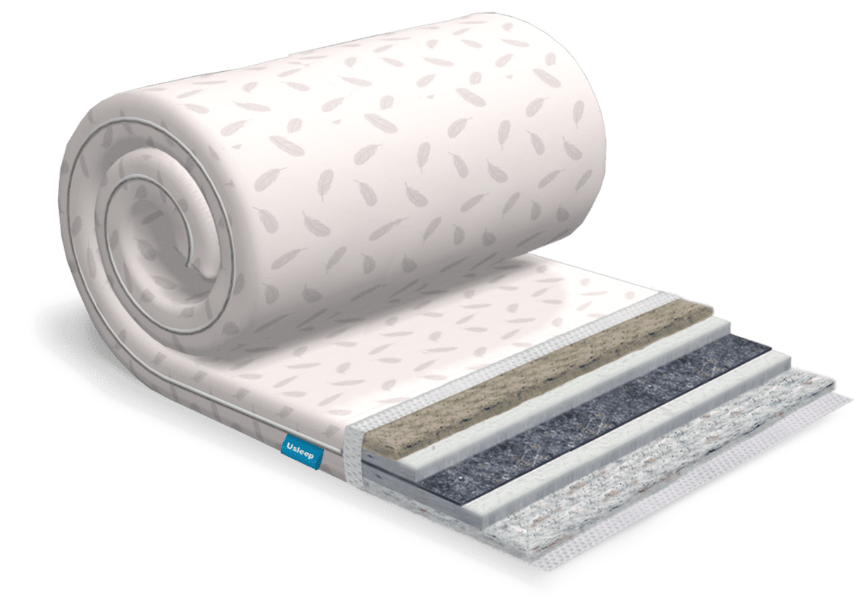 Топпер-футон USLEEP SleepRoll Comfort  5+1 зима/лето (без поролона) 160х200