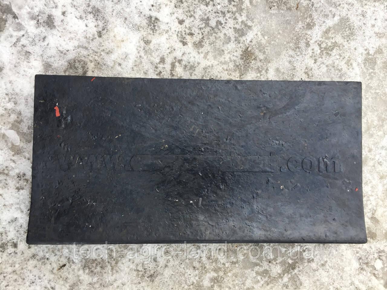 Резина для отвала снежного (500х250х40)