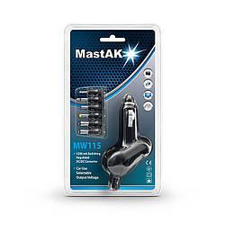 Зарядний пристрій MastAK - MW-115 (автомобільний універсальний)