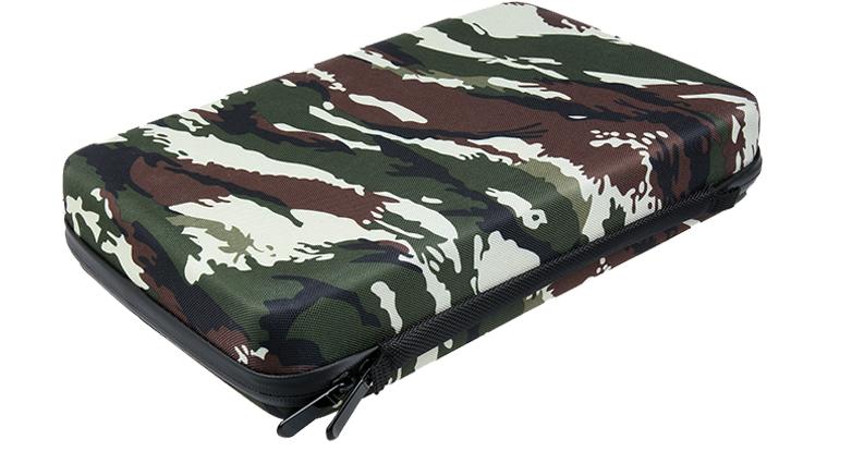 Кейс для GoPro и экшн камер (Case Large Camouflage)  30*20*6 cm