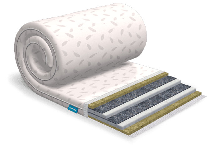 Топпер-футон USLEEP SleepRoll Extra Linen (без поролона) 80х200, фото 2
