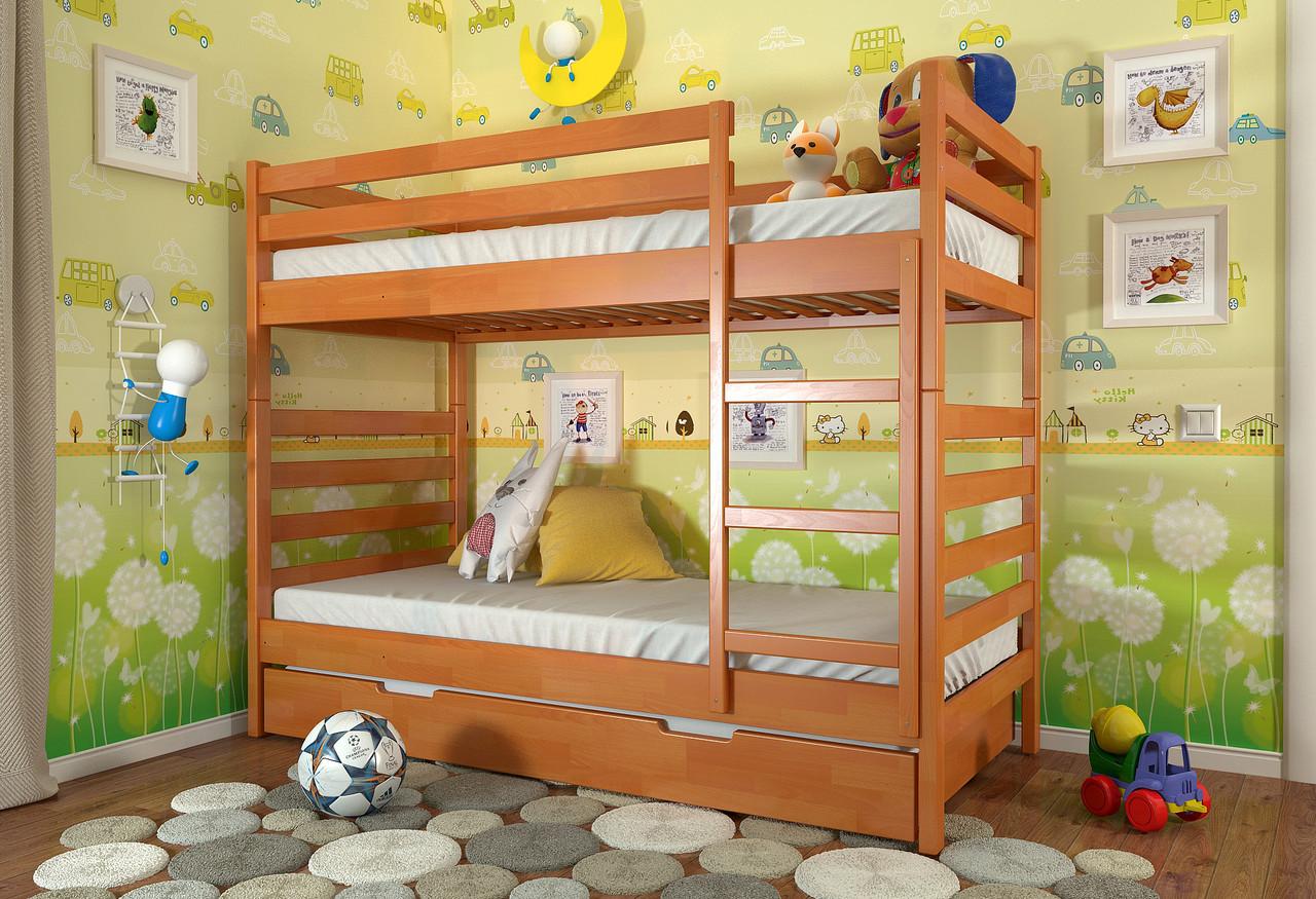 Двухъярусная кровать Arbordrev Рио (90*200) сосна