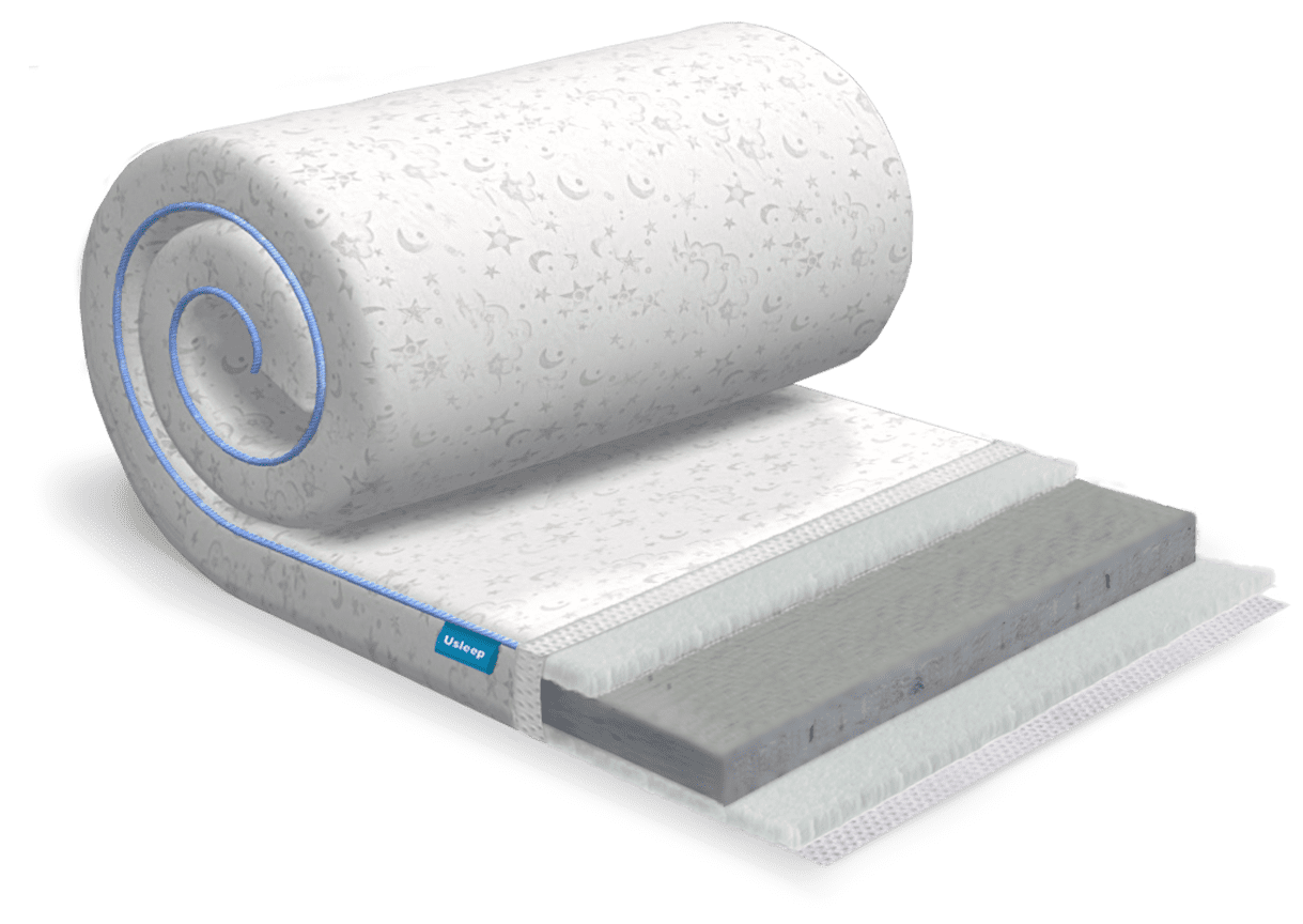 Топпер-футон USLEEP SleepRoll Air Comfort 3+1 Lite (без поролона) 180х190