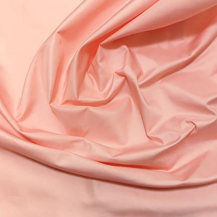 Плащова тканина лаку персикова, фото 2