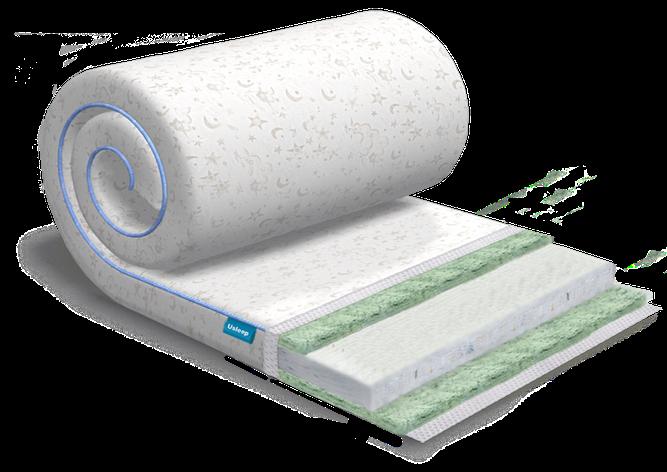 Топпер-футон USLEEP SleepRoll Air Comfort 3+1 Bamboo (без поролона) 80х190, фото 2