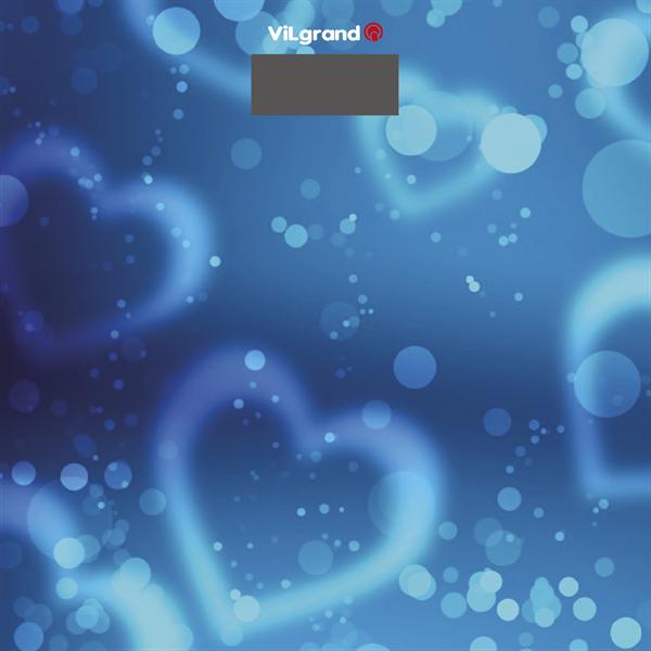 Весы напольные ViLgrand VFS-1828 Aqua blue